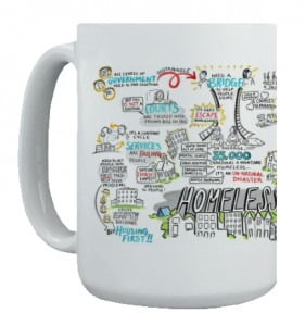 Graphic Recording on mug